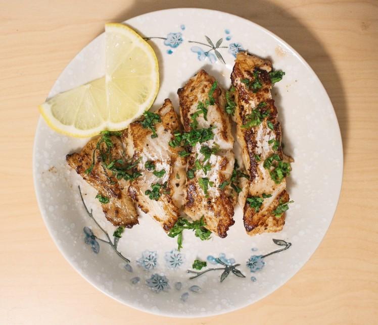shiso ochazuke lemon butter cod with shiso toffee nosed rai recipe