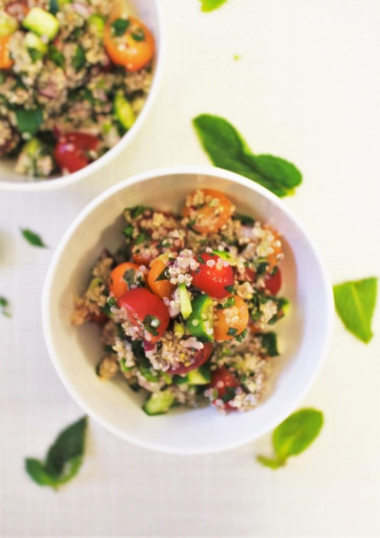 quinoa tabbouleh toffee nosed rai hsu